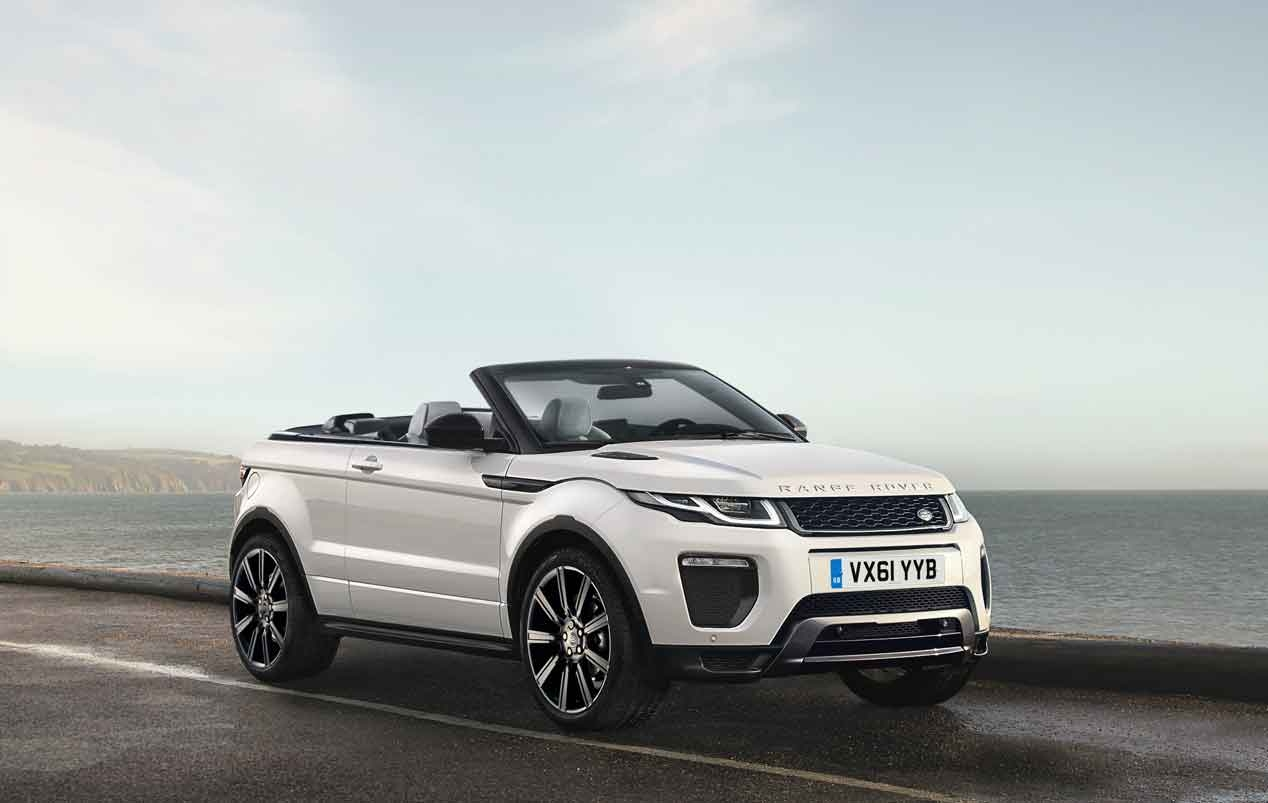 range rover evoque cabrio aut luxury cars barcelona rent luxury cars in barcelona. Black Bedroom Furniture Sets. Home Design Ideas